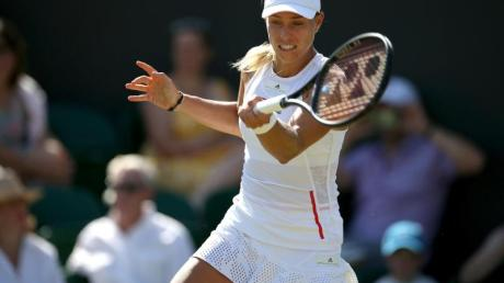 Muss ihre Hoffnungen auf die Titelverteidigung in Wimbledon bereits früh begraben: Angelique Kerber Foto: Steven Paston