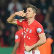 Verlängert seinen Vertrag beim FC Bayern: Robert Lewandowski. Foto: Matthias Balk