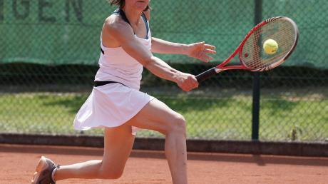 Katja Wittner erreichte zumindest noch den Match-Tiebreak, musste sich dann aber gegen ihre starke Legauer Gegnerin geschlagen geben. Am Ende unterlagen Wemdings Damen mit 0:9.