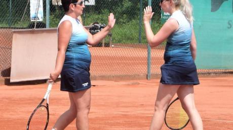 Ein gutes Team: Ramona Schamberger (links) und Manuela Exner.