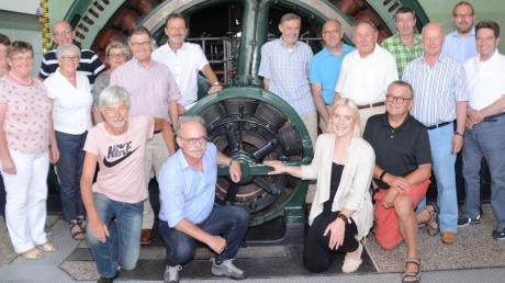 Im Lechmuseum in Langweid trafen sich die Landkreiskickers zu ihrer Jahreshauptversammlung.