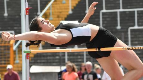Mit übersprungenen 1,75 Metern wurde Luisa Tremel vom TSV Gersthofen bayerische Meisterin ium Hochsprung. Für die 16-Jährige war es gelungene Generalprobe für das European Youth Olympic Festival in Baku.