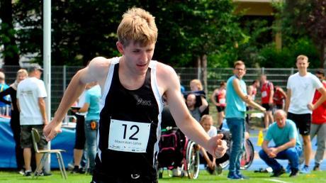 LT-Sportler des Jahres Maximilian Lohse holte bei der internationalen deutschen Meisterschaft der Para-Leichtathletik Bronze.
