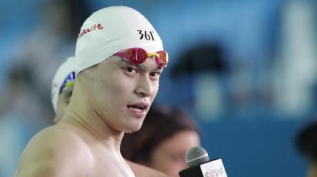 Der chinesische Freistilschwimmer Sun Yang steht im Verdacht des Dopings.