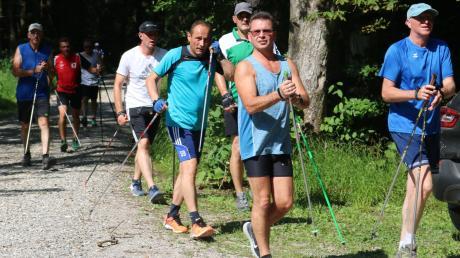 Der Trend hält an: Im Vergleich zu den Anfangsjahren starten inzwischen viele Männer bei den einzelnen Tour-Etappen, wie hier in Ebershausen.