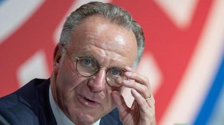 Karl-Heinz Rummenigge möchte einen starken DFB-Präsidenten.