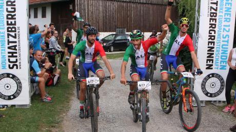 Die Italiener trugen mit dazu bei, dass beim Schatzbergrennen in diesem Jahr ein neuer Teilnehmerrekord aufgestellt wurde – und sie gewannen auch in drei Kategorien.