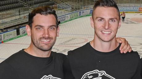 Adam Payerl und Scott Valentine sind zwei der erfolgreichen Kanadier bei den Augsburger Panthern. Sie spielen auch in der kommenden DEL-Saison für den AEV.