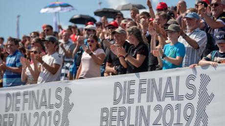 Große Resonanz: Die Finals 2019 lockten zahlreiche Zuschauer zu den Sportstätten in Berlin. Foto: Monika Skolimowska/dpa-Zentralbild