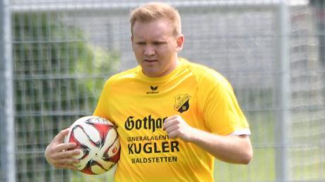 Steffen Gemsa ist nicht nur Abteilungsleiter beim SV Waldstetten. Der 29-Jährige läuft auch regelmäßig selbst im Trikot des Kreisklassisten auf.