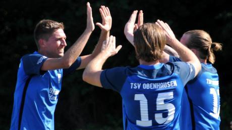 Ulrich Klar, Co-Spielertrainer des TSV Obenhausen, hat mit zwei Kopfballtreffern den 3:1-Auftaktsieg des TSVO gegen den FC Blaubeuren mit zu verantworten.