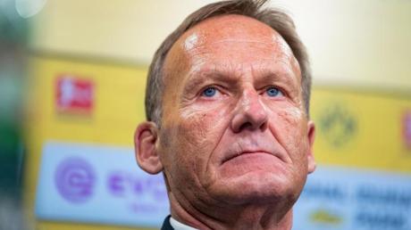 Kandidiert nicht für das DEL-Präsidium: BVB-Boss Hans-Joachim Watzke. Foto: Guido Kirchner
