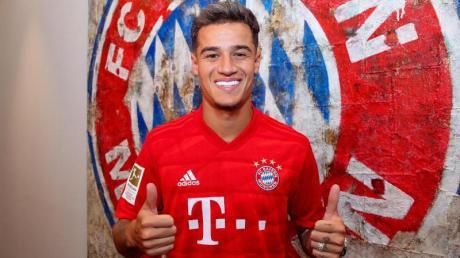 Philippe Coutinho spielt jetzt für den FC Bayern München. Foto: FCB//FC Bayern München AG