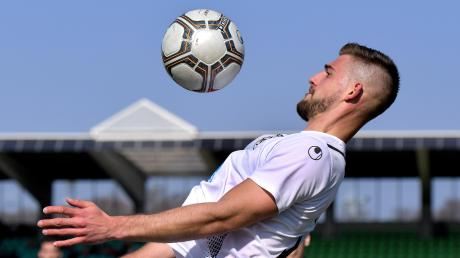 David Braig stand im Pokalspiel seiner Ulmer Spatzen gegen den VfB Bösingen mal wieder in der Startelf.