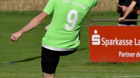 Beim FSV Eching läuft es bislang nach Plan – trotz erheblicher Personalsorgen. Die plagen auch den aktuellen Gegner SV Kinsau.
