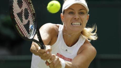 Scheiterte auch in Wuhan in der ersten Runde: Angelique Kerber.