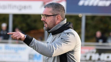 Paolo Maiolo wird auch in der kommenden Saison das Bayernliga-Team des TSV Schwabmünchen trainieren.