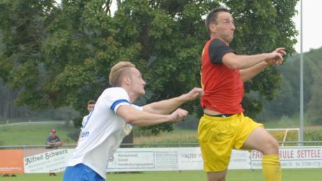 Beurens Johannes Maurer war der Matchwinner der Partie gegen den FV Senden. Er schoss alle drei Treffer seiner Mannschaft.
