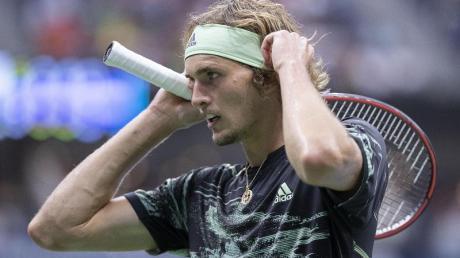 Für Alexander Zverev war bei den US Open im Achtelfinale Schluss. Foto: Javier Rojas/Pi/Prensa Internacional via ZUMA