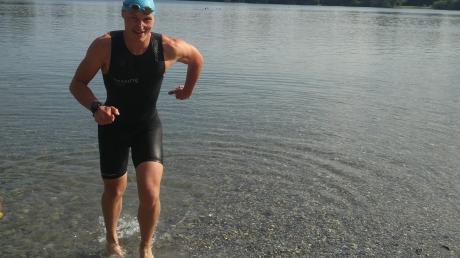 Christopher Schumann hat seinen bisherigen Karrierehöhepunkt vor sich. Am Sonntag nimmt der 29-jährige Augsburger an der Weltmeisterschaft im Half-Ironman teil.