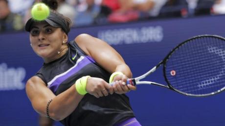 Bianca Andreescu aus Kanada gewann überraschend die US Open.
