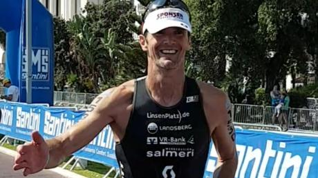 """Für den Kauferinger Triathleten Tom Weikert aus Kaufering war die Teilnahme an der Weltmeisterschaft ein """"großartiges Erlebnis""""."""
