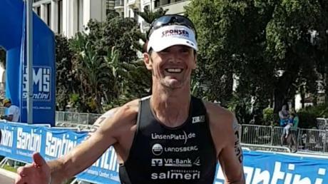 """Für den Kauferinger Triathleten Tom Weikert war die Teilnahme an der Weltmeisterschaft ein """"großartiges Erlebnis""""."""