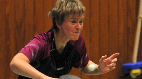 Ute Speer sorgte mit ihrem dritten Einzelsieg für den Schlusspunkt beim 8:4-Erfolg des TSV Herbertshofen.