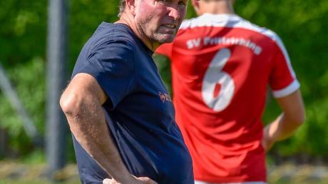 Mit der bisherigen Saison kann Prittrichings Trainer Peter Krems sehr zufrieden sein. Seine Mannschaft ist Tabellenführer mit einer beeindruckenden Torbilanz.