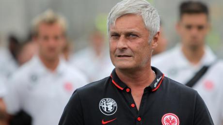 Armin Veh war nicht nur Spieler und Trainer beim FC Augsburg, sondern von 2011 bis 2014 und von 2015 bis 2016 auch Trainer bei Eintracht Frankfurt.