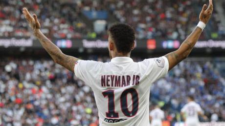 Darf bald wieder für Paris Saint-Germain in der Champions League spielen: Neymar.