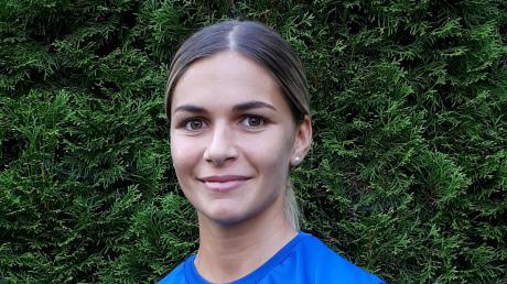 Vorfreude auf die EM-Qualifikation: Ardiana Merditaj im Trainingsleibchen des Kosovo.
