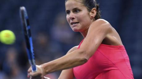 Julia Görges ist beim Turnier in Peking bereits in der ersten Runde ausgeschieden.