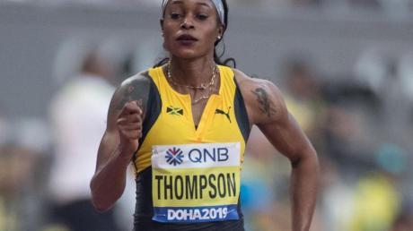 Sprinterin Elaine Thompson gilt als eine der Favoritinnen im 100-Meter-Finale.
