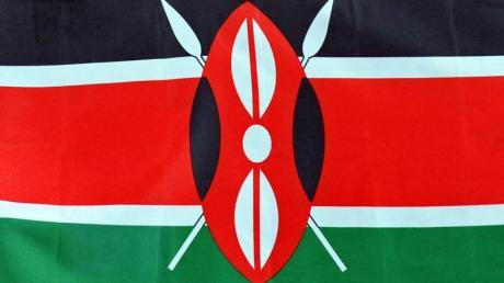 Der Leichtathletik-Weltverband IAAF will Blutdoping-Vorwürfe gegen Kenia untersuchen: die Fahne des Landes.