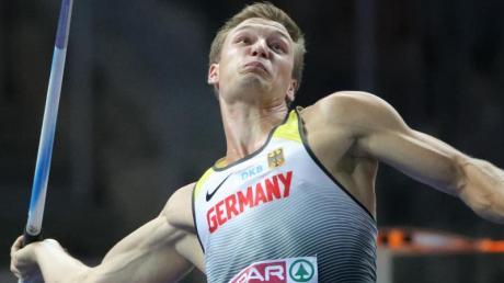 Olympiasieger Thomas Röhler fordert eine stärkere Beteiligung der Athleten an den Einnahmen des IOC. Foto: Michael Kappeler