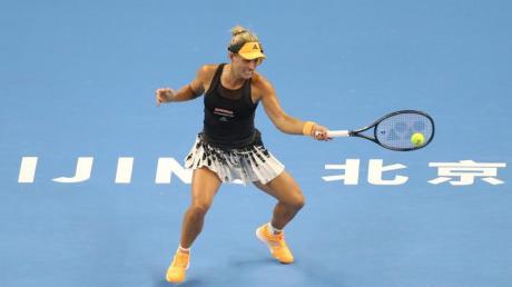 Auch Angelique Kerber ist beim Turnier in Peking ausgeschieden.