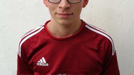 Jakob Schwab, Matchwinnner des Jugendspiels in Schretzheim.