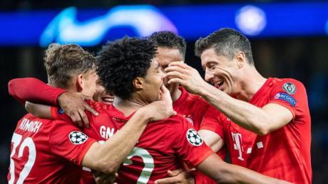 Die Bayern besiegten Tottenham mit 7:2.