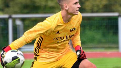 Beim Derby gegen Memmingen kommt es für die Spieler des SV Egg zu einem Wiedersehen mit ihrem früheren Torhüter Lukas Trum.