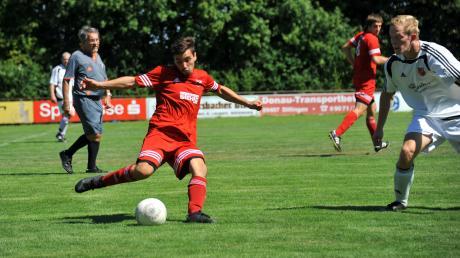 Gut abgezogen: Basilio Selis traf in der Aufstiegssaison 40 Mal für seinen TSV Wittislingen.