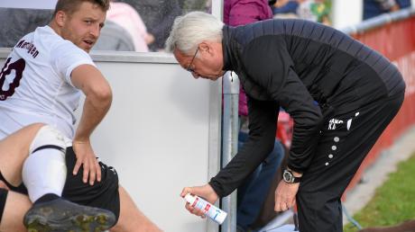 Für Kapitän Philipp Heckmeier und den FC Mertingen geht es am Sonntag gegen den TSV Meitingen, der nur knapp hinter Spitzenreiter Bubesheim rangiert.