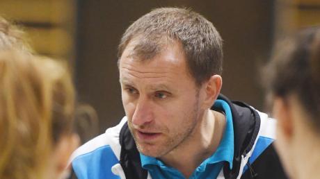 Trainer Nikolaj Roppel unterlag mit der DJK Augsburg-Hochzoll.