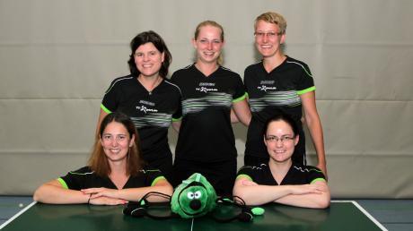 Mit einem Sieg und einem Unentschieden startete die erste Damenmannschaft des PSV Königsbrunn in die Tischtennis-Saison.