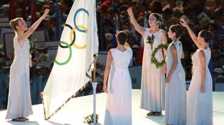 Die Olympische Charta, die die Spiele regelt, soll nach Wunsch der Athletenverbände um die Menschenrechte erweitert werden. Foto: Peter Kneffel/dpa