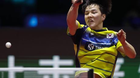 Mit Bronze bei der Weltmeisterschaft in Budapest überraschte der junge Koreaner An Jaehyun die Tischtennis-Welt.