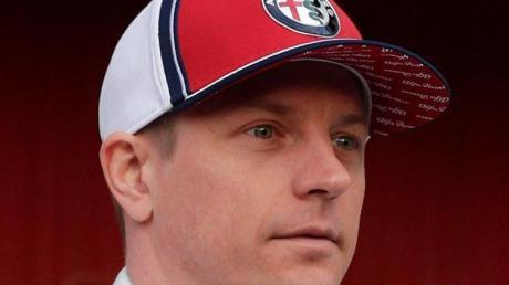 Der mit Abstand älteste Fahrer im Formel-1-Starterfeld: Kimi Räikkönen.