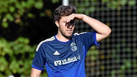 Wohin führt der Weg? Windachs Spielertrainer Marcel Graf erwartet diesmal mit seiner Mannschaft den selbst ernannten Titelaspiranten DJK Schwabhausen.