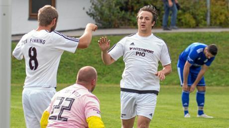 Der TSV Finning setzte sich deutlich gegen Schlusslicht Lengenfeld durch und kann damit in der Tabelle der A-Klasse 7 wieder nach oben blicken.