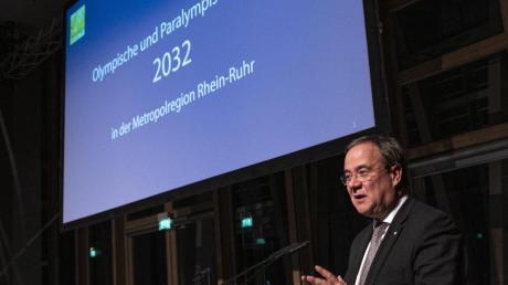 Will Olympia 2032 nach NRWholen: Ministerpräsident Armin Laschet.